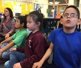 Quand l'enseignant et ses élèves méditent